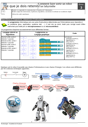 Technologie : enseigner le SysML au collège Le blog de